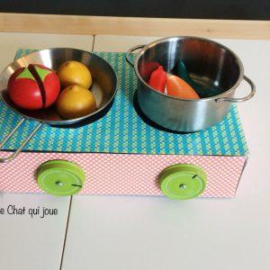 Cuisinière portative DIY