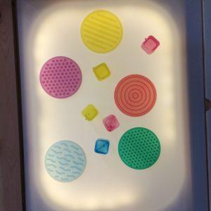 Table lumineuse DIY