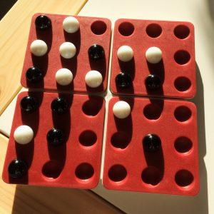 Présentation d'un jeu : Pentago
