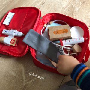 Personnaliser une trousse médicale pour enfant